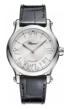Buy this new Chopard Happy Sport Automatic 36mm 278559-3001 ladies watch for the discount price of £5,873.00. UK Retailer.