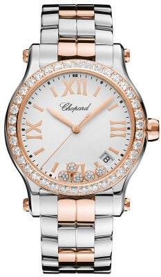 Chopard Happy Sport Round Quartz 36mm 278582-6004 watch