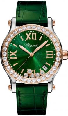 Chopard Happy Sport Round Quartz 36mm 278582-6007 watch