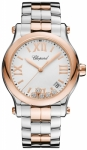 Chopard Happy Sport Round Quartz 36mm 278582-6002 watch