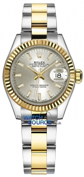 Rolex Lady Datejust 28mm Stainless Steel and Yellow Gold 279173 Silver Index Oyster watch