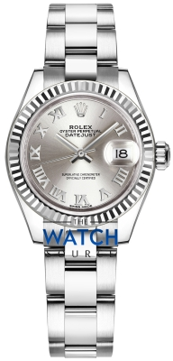 Rolex Lady Datejust 28mm Stainless Steel 279174 Silver Roman Oyster watch