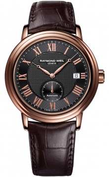 Raymond Weil Maestro Mens watch, model number - 2838-pc5-00209, discount price of £1,060.00 from The Watch Source