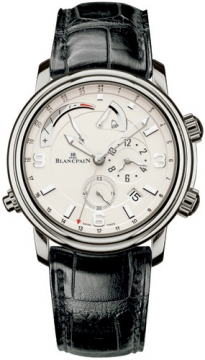 Blancpain Leman Reveil GMT Mens watch, model number - 2841-1542-53b, discount price of £21,740.00 from The Watch Source