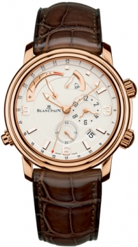 Blancpain Leman Reveil GMT Mens watch, model number - 2841-3642-53b, discount price of £20,500.00 from The Watch Source
