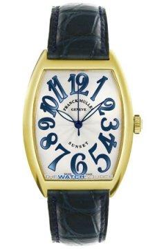 Franck Muller Cintree Curvex 2852 SC RS Sunset YG Silver watch