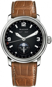 Blancpain Leman Moonphase & Complete Calendar Mens watch, model number - 2863-1130a-53b, discount price of £8,737.00 from The Watch Source