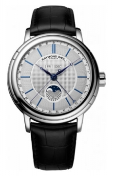 Raymond Weil Maestro Mens watch, model number - 2869-stc-65001, discount price of £1,865.00 from The Watch Source