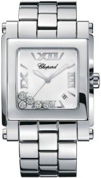 Chopard Happy Sport Square Quartz XL Ladies watch, model number - 288467-3001, discount price of £5,810.00 from The Watch Source