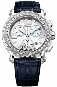 Chopard Happy Sport Chronograph Quartz 42mm Ladies watch, model number - 288499-3021, discount price of £15,980.00 from The Watch Source
