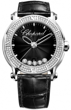 Chopard Happy Sport Round Quartz 42mm Ladies watch, model number - 288525-3006, discount price of £13,005.00 from The Watch Source