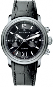 Blancpain Leman Flyback Chronograph & Big Date Mens watch, model number - 2885f-11b30-53b, discount price of £9,225.00 from The Watch Source
