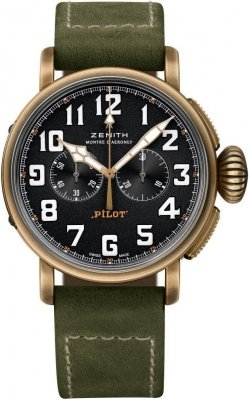 Zenith Pilot Type 20 Chronograph 29.2430.4069/21.c800 watch