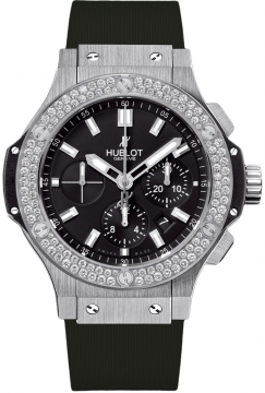 Hublot Big Bang Steel 44mm Mens watch, model number - 301.sx.1170.rx.1104, discount price of £12,640.00 from The Watch Source