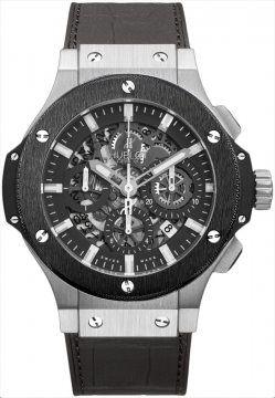 Hublot Big Bang Aero Bang Steel 44mm Mens watch, model number - 311.sm.1170.gr, discount price of £10,880.00 from The Watch Source