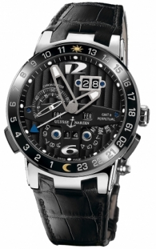 Ulysse Nardin El Toro GMT +/- Perpetual Calendar Mens watch, model number - 320-00, discount price of £35,107.00 from The Watch Source