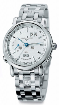 Ulysse Nardin GMT +/- Perpetual 38.5mm Mens watch, model number - 320-22-8, discount price of £38,610.00 from The Watch Source