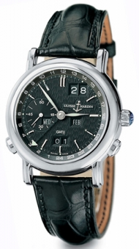 Ulysse Nardin GMT +/- Perpetual 38.5mm Mens watch, model number - 320-22/92, discount price of £26,129.00 from The Watch Source