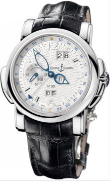 Ulysse Nardin GMT +/- Perpetual 42mm Mens watch, model number - 320-60/60, discount price of £32,614.00 from The Watch Source