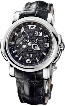 Ulysse Nardin GMT +/- Perpetual 42mm Mens watch, model number - 320-60/62, discount price of £32,614.00 from The Watch Source