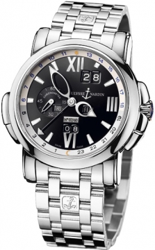Ulysse Nardin GMT +/- Perpetual 42mm Mens watch, model number - 320-60-8/32, discount price of £43,443.00 from The Watch Source
