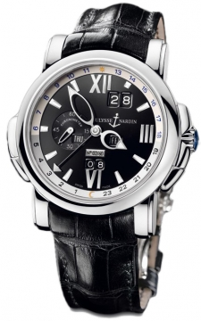 Ulysse Nardin GMT +/- Perpetual 42mm Mens watch, model number - 320-60/32, discount price of £32,614.00 from The Watch Source