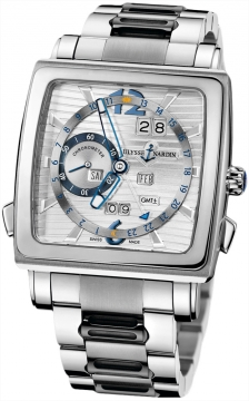 Ulysse Nardin Quadrato Dual Time Perpetual Mens watch, model number - 320-90-8m/91, discount price of £50,366.00 from The Watch Source