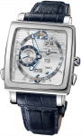 Ulysse Nardin Quadrato Dual Time Perpetual 320-90/91 watch