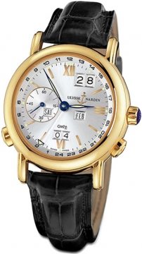 Ulysse Nardin GMT +/- Perpetual 38.5mm Mens watch, model number - 321-22/31, discount price of £23,421.00 from The Watch Source