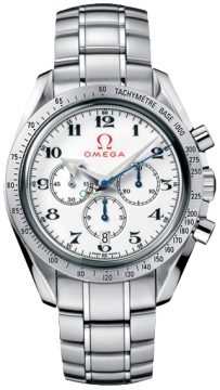Omega Speedmaster Broad Arrow Mens watch, model number - 321.10.42.50.04.001 Olympic Edition Timeless Collection, discount price of £4,030.00 from The Watch Source