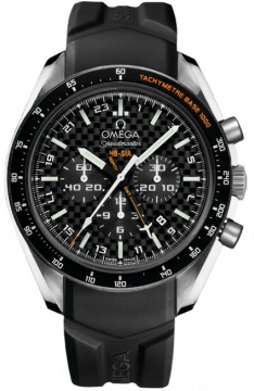 Omega Speedmaster HB-SIA GMT Chronograph SOLAR IMPULSE Mens watch, model number - 321.92.44.52.01.001, discount price of £5,190.00 from The Watch Source