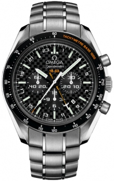 Omega Speedmaster HB-SIA GMT Chronograph SOLAR IMPULSE Mens watch, model number - 321.90.44.52.01.001, discount price of £5,574.00 from The Watch Source