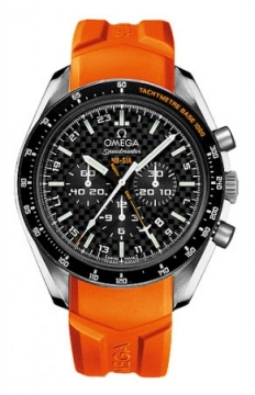 Omega Speedmaster HB-SIA GMT Chronograph SOLAR IMPULSE Mens watch, model number - 321.92.44.52.01.003, discount price of £4,900.00 from The Watch Source