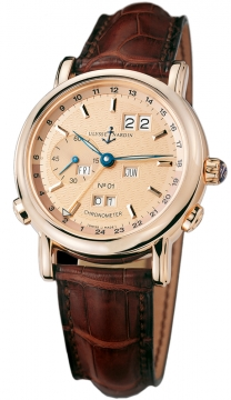 Ulysse Nardin GMT +/- Perpetual 40mm Mens watch, model number - 322-88, discount price of £30,060.00 from The Watch Source