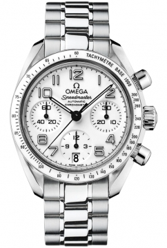 Omega Speedmaster Lady Chronograph 38mm Ladies watch, model number - 324.30.38.40.04.001, discount price of £2,770.00 from The Watch Source