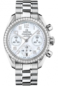 Omega Speedmaster Lady Chronograph 38mm Ladies watch, model number - 324.15.38.40.05.001, discount price of £6,320.00 from The Watch Source