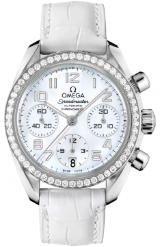 Omega Speedmaster Lady Chronograph 38mm Ladies watch, model number - 324.18.38.40.05.001, discount price of £6,984.00 from The Watch Source