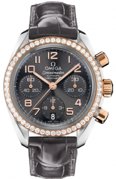 Omega Speedmaster Lady Chronograph 38mm Ladies watch, model number - 324.28.38.40.06.001, discount price of £6,970.00 from The Watch Source