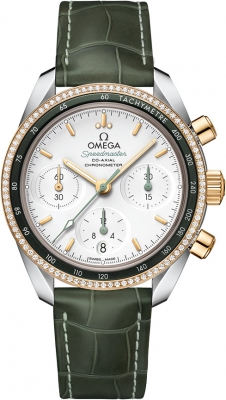 Buy this new Omega Speedmaster Co-Axial Chronograph 38mm 324.28.38.50.02.001 ladies watch for the discount price of £6,192.00. UK Retailer.