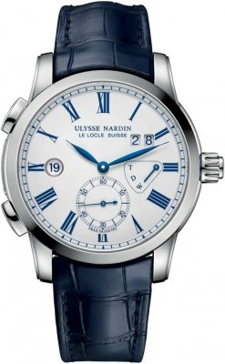 Ulysse Nardin Classic Dual Time 42mm 3243-132/e0 watch