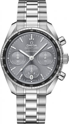 Buy this new Omega Speedmaster Co-Axial Chronograph 38mm 324.30.38.50.06.001 midsize watch for the discount price of £3,240.00. UK Retailer.