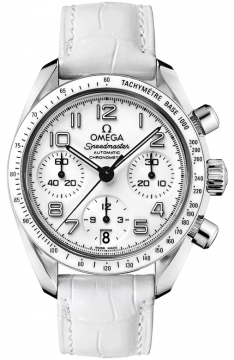 Omega Speedmaster Lady Chronograph 38mm Ladies watch, model number - 324.33.38.40.04.001, discount price of £2,854.00 from The Watch Source