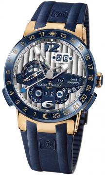 Ulysse Nardin El Toro GMT +/- Perpetual Calendar Mens watch, model number - 326-00-3, discount price of £34,943.00 from The Watch Source