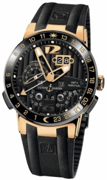 Ulysse Nardin El Toro GMT +/- Perpetual Calendar Mens watch, model number - 326-03-3, discount price of £34,935.00 from The Watch Source