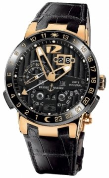 Ulysse Nardin El Toro GMT +/- Perpetual Calendar Mens watch, model number - 326-03, discount price of £34,000.00 from The Watch Source