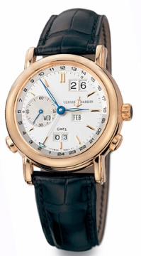 Ulysse Nardin GMT +/- Perpetual 38.5mm Mens watch, model number - 326-22, discount price of £23,421.00 from The Watch Source