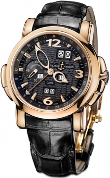 Ulysse Nardin GMT +/- Perpetual 42mm Mens watch, model number - 326-60/62, discount price of £28,207.00 from The Watch Source