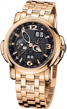 Ulysse Nardin GMT +/- Perpetual 42mm Mens watch, model number - 326-60-8/62, discount price of £39,979.00 from The Watch Source