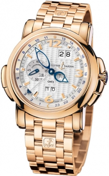 Ulysse Nardin GMT +/- Perpetual 42mm Mens watch, model number - 326-60-8/60, discount price of £35,276.00 from The Watch Source