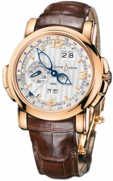 Ulysse Nardin GMT +/- Perpetual 42mm Mens watch, model number - 326-60/60, discount price of £28,207.00 from The Watch Source
